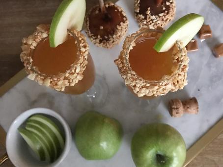 TGIF || Caramel Apple Mimosas
