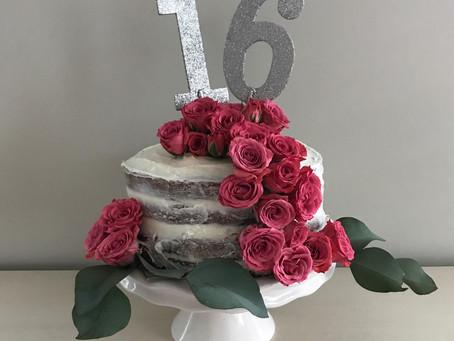 Celebrate    Sweet Sixteen ideas