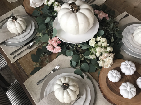 Home || My Thanksgiving Table Scape