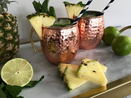TGIF || Pineapple Moscow Mules you will love!