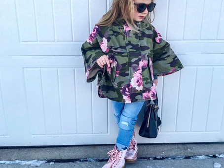 OOTD || Sophia's Combat Chic outfit