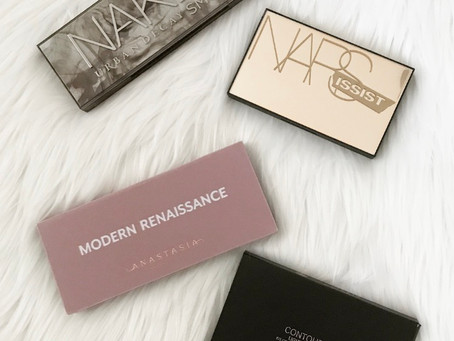 Beauty || Four palettes I'm obsessing over and think you will too!
