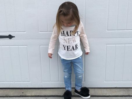 OOTD || Sophia's New Year's DayOutfit