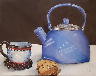 Tea with Engelbreit