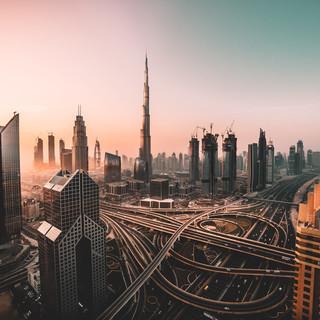 4 - Sunrise shot of Downtown Dubai.jpg