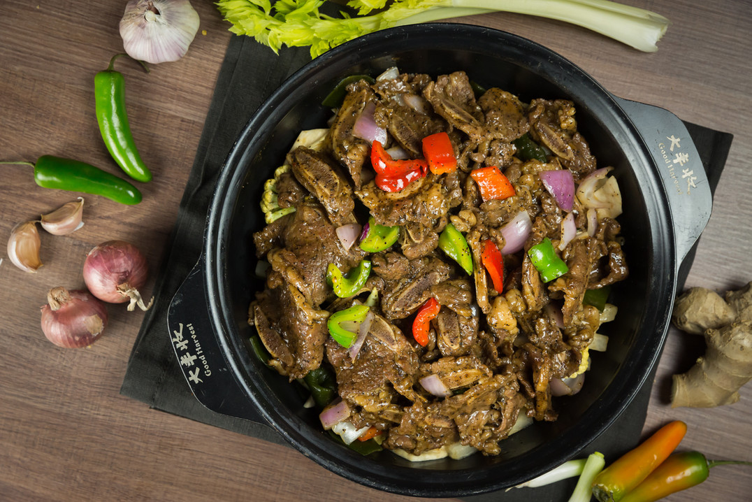 spicy Beef hotpot