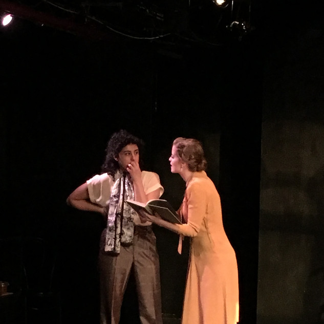 I Rise in Fame, Cried the Phoenix By Tennessee Williams Directed by Adan Sanchez Marymount Manhattan College