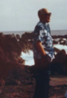 1977-Last Photo-BigIsland-BlackSandBeach