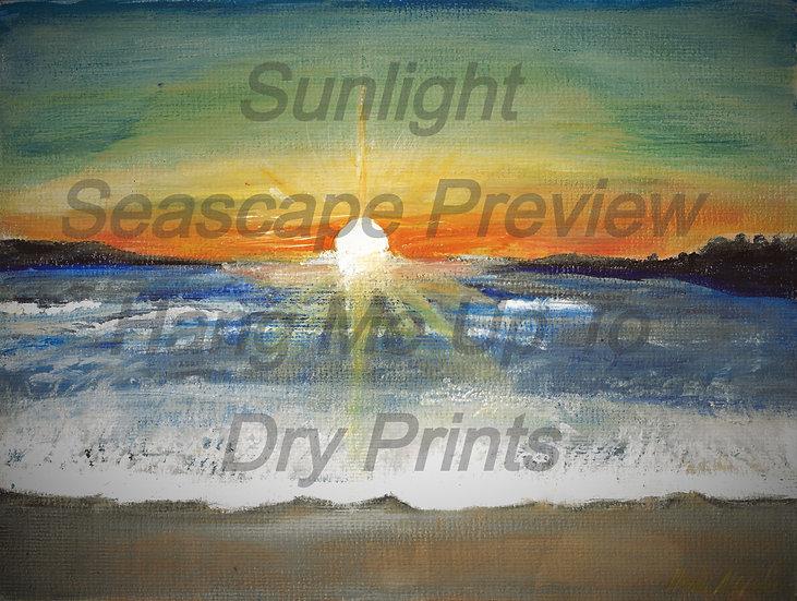 Sunlight Seascape