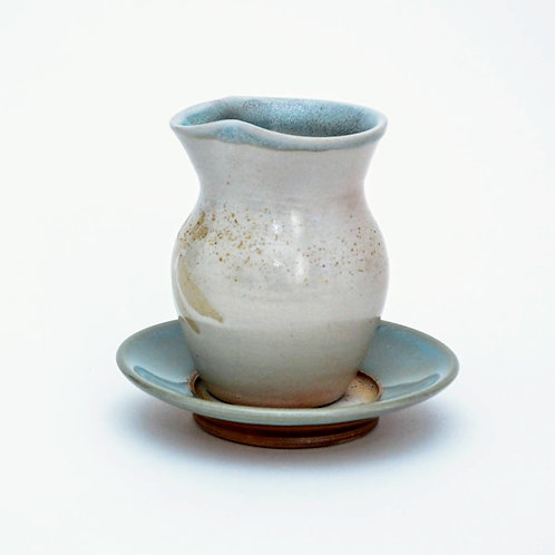Woodfired Pourer And Saucer Set