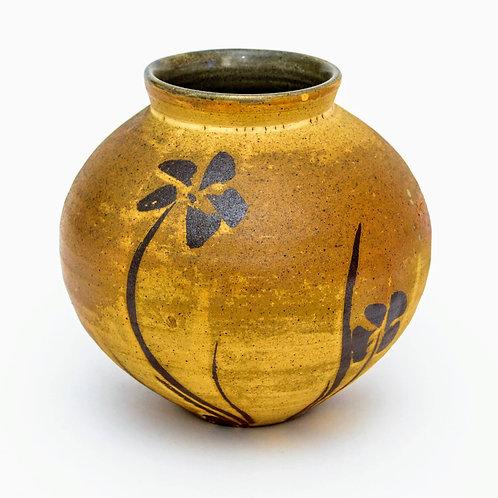 Medium Woodfired Stoneware Vase