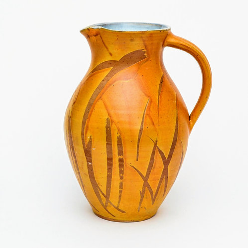 Large Woodfired Stoneware Pitcher