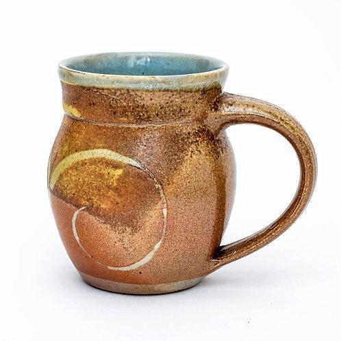 Woodfired Stoneware Round Mug