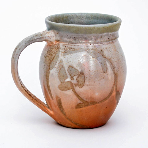 Large Woodfired Stoneware Round Mug