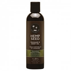 Hemp Seed Massage & Body Oil - Guavalava 237ml