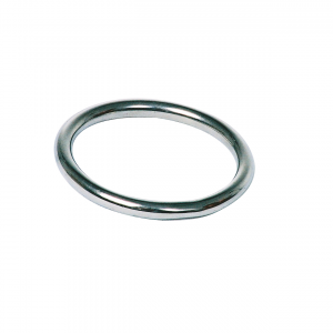 Love in Leather – Stainless Steel Cockring