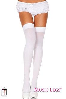Music Legs - Opaque Thigh Hi
