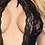 Thumbnail: Lace Keyhole Bodystocking with Cheeky Cut Out