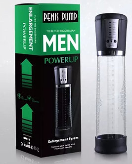 Power Up Rechargeable Penis Pump