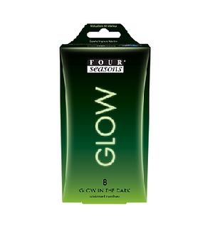 Four Seasons Glow N Dark Condoms 8Pk