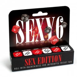 Sexy 6 - Sex Edition Dice Game