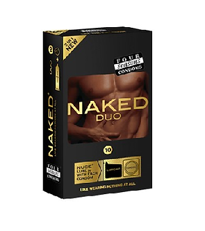Four Seasons Naked Duo Condoms 10PK