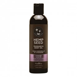 Hemp Seed Massage Lotion & Body Oil - Lavender 237ml