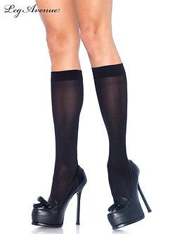 Leg Avenue - Nylon Opaque Knee Highs