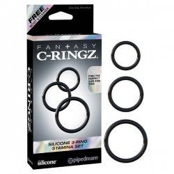 Fantasy C-Ringz - 3 Ring Stamina Set