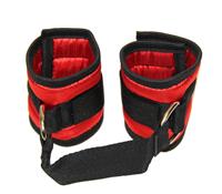 Love In Leather - Satin Wrist Restraints
