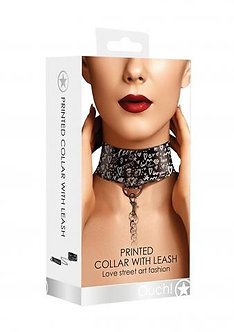 Love Art Street Fashion - Collar with Leash