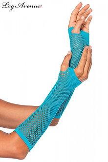 Leg Avenue - Triangle Net Fingerless Gloves