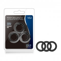 Performance VS2 Silicone Cockrings - Small