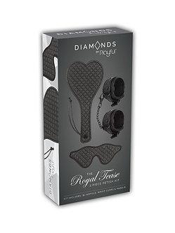 Playful Diamonds - The Royal Tease 3pc Fetish Kit
