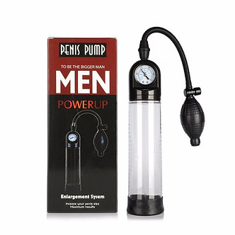 Power Up Penis Pump with Gauge