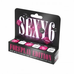 Sexy 6 - Foreplay Edition Dice Game