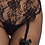 Thumbnail: Leg Avenue - Fleur De Lace Suspender
