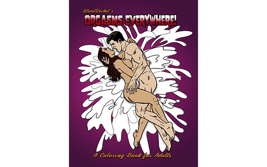Orgasms Everywhere Colouring Book
