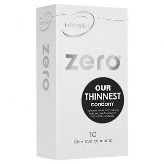 LifeStyles Zero Uber Thin 10 pack
