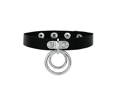 Love In Leather - Double D Choker