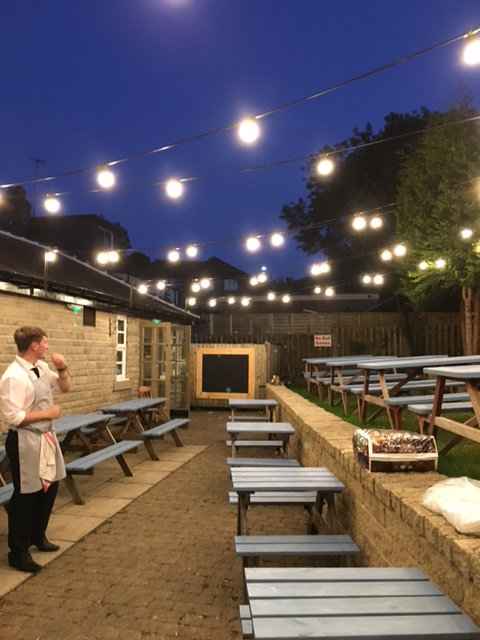 The Castle Inn, Bradway, Complete Beer Garden and BBQ Bar Build - £POA