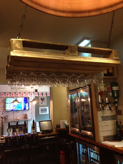 The Banner Cross,Sheffield, Public House Ceiling Stem Glass Holders - £ POA