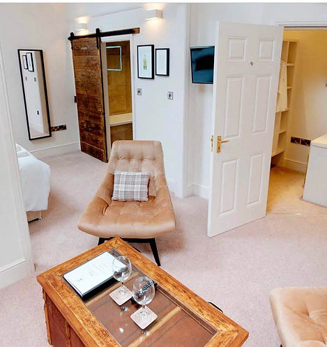 Boutique Hotel Rooms at The Devonshire Arms, Middle Handley