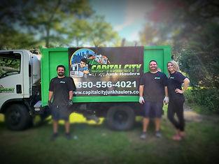 Tallahassee junk removal. Capital City j