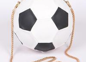Soccer Ball Clutch
