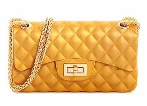Quilted HardBody Handbag