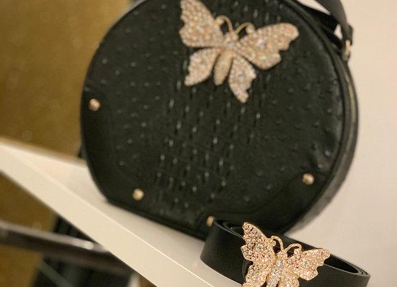 Butterfly Handbag & Belt