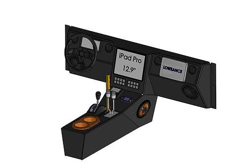 DES Jeep Wrangler TJ/LJ Sheet Metal Dash Kit - PREORDER
