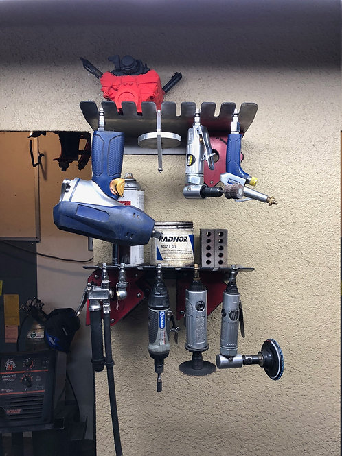 DES Air and Pneumatic Tool Rack and Storage
