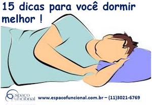 Espaço Funcional Dicas para dormir melhor
